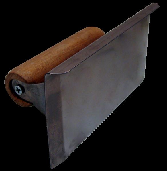 Desempenadeira com aba levantada 15×7,5cm