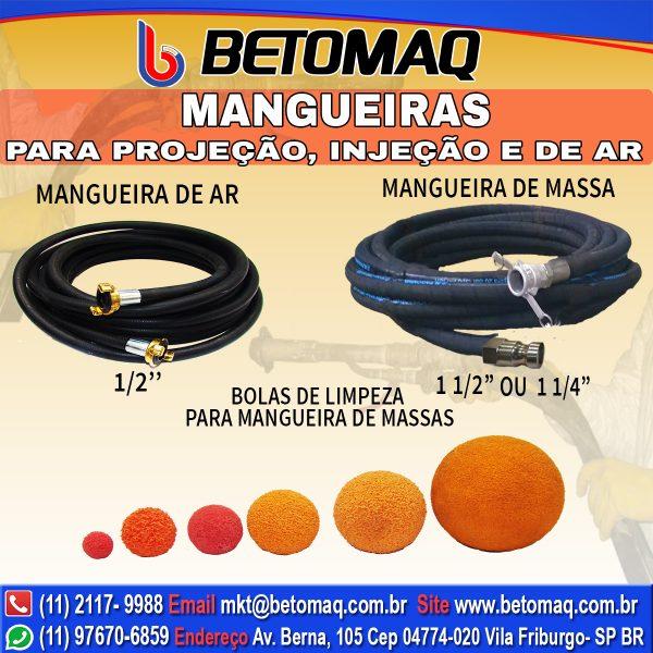 <p hidden>1 – </p> Mangueiras Betomaq
